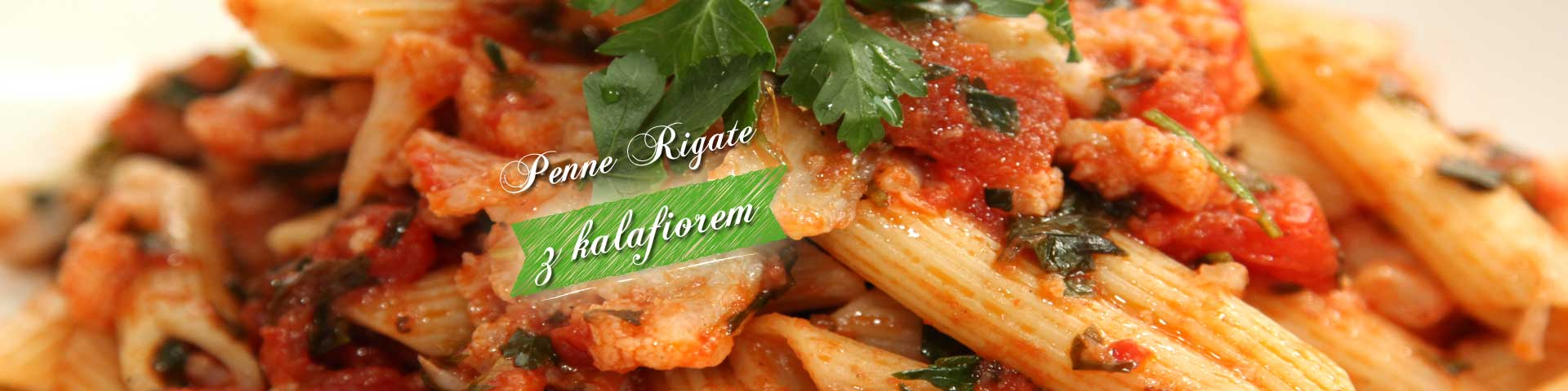 Penne Rigate with cauliflower