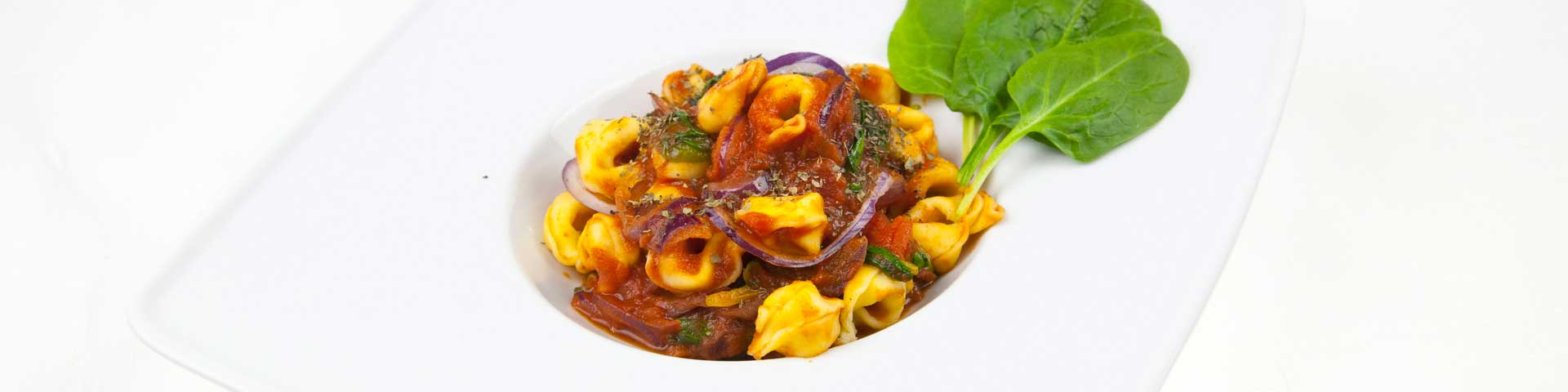 Tortellini pomidorowo-szpinakowe